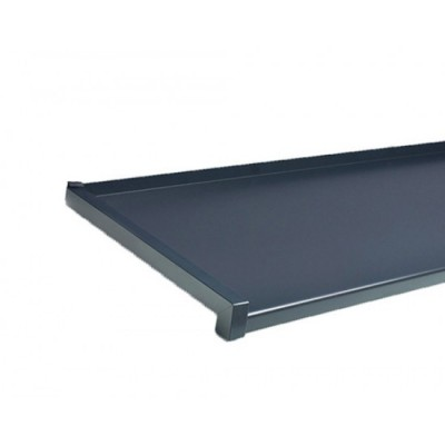GLAF de Aluminiu Gri antracit pentru exterior 2mm grosime - 18 cm