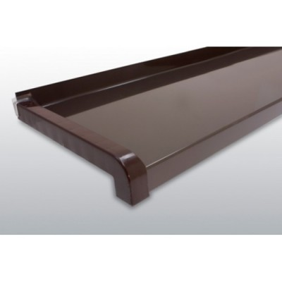 GLAF de Aluminiu Maro RAL8014 pentru exterior 2mm grosime - 18 cm