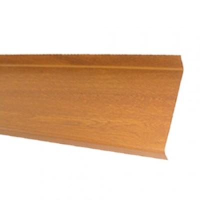 GLAF de Aluminiu Stejar Auriu pentru exterior 2mm grosime - 18 cm