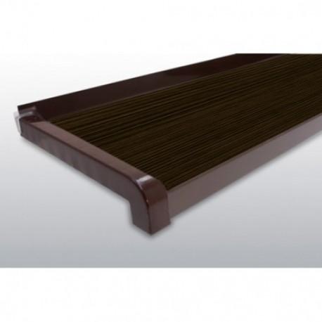 GLAF de Aluminiu Wenge pentru exterior 2mm grosime - 11 cm