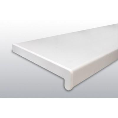 Glaf PVC de interior alb - 25 cm
